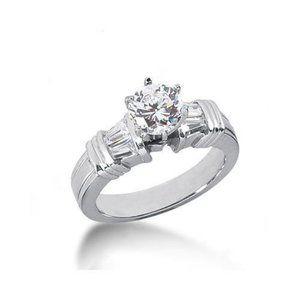2.31ct diamonds anniversary ring white gold